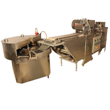 Fully Automatic Chapati Making Machine Rotary Wheel Mechanism Conveyor Pressing Type