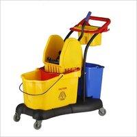 81 ltr Multifunction Mop Wringer Trolley