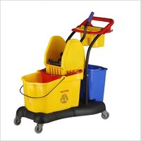 Mop Wringer Trolley Multifunction 81 ltr