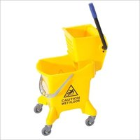 Mop Wringer Trolley Side Press 31 Ltr.