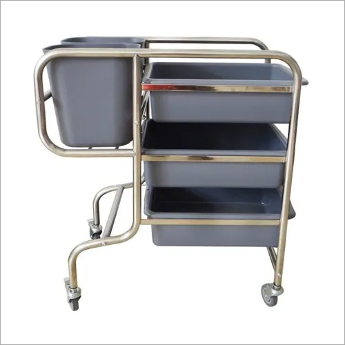 Restaurant Cafeteria Clearance Trolley 82 x 46 x 91 cm