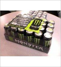 Monster Energy Drink, Green, Original, 16 Ounce