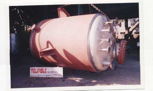 Jacketed SS316 Vessel