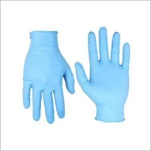 Nitrile Examination Gloves (Blue)