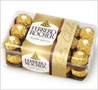Kinder Bueno,Ferrero Rocher,Kinder Joy,Nutella