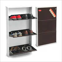 3 Shelf Shoe Cabinet