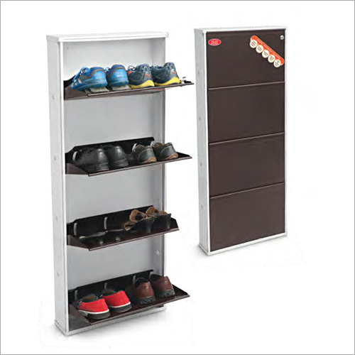 4 Shelf Shoe Cabinet