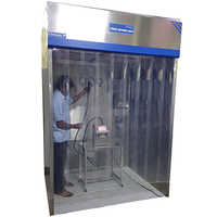 Steel Powder Coated Dispensing Booth