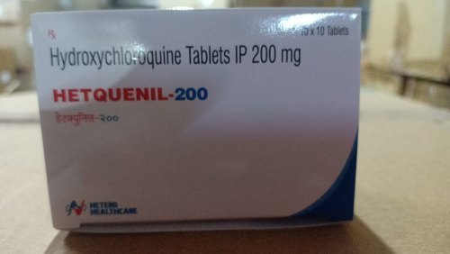 Hetquenil-200 Tablets (Hydroxychloroquine (200mg) - Hetero Healthcare)