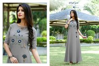 Art Ridhs Present Princess Dhani Vol-2 Gown Kurta