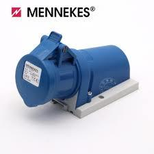 Mennekes 27005 IP44 32Amp 3Pin Wall Mounted Socket