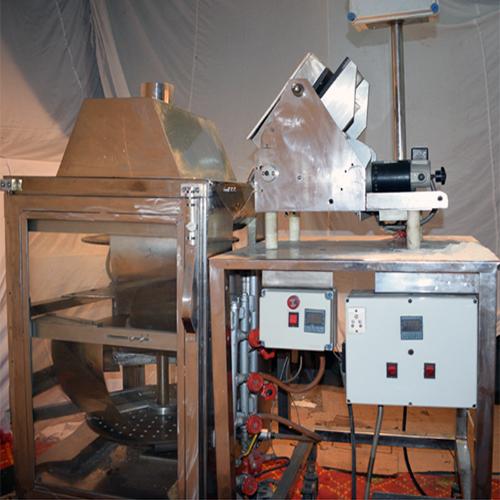 Multi Tawa Type Semi Automatic Chapati Making Machine Compact Type