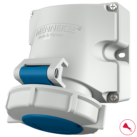 Mennekes Wall Mounted Receptacles IP67