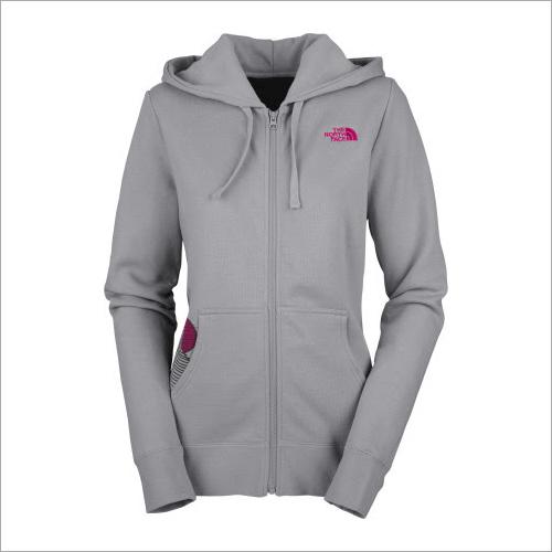 Women Full Zip Hooded Sweat Shirt