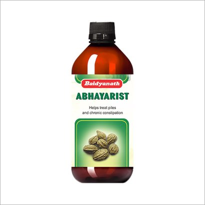 Abhayarist Constipation Syrup Age Group: For Children(2-18Years)