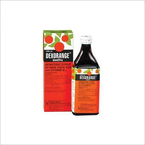 Hematinic Syrup of Iron - Folic Acid and Vitamin B12