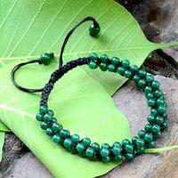 Green Onyx Gemstone Bracelet PG-156332