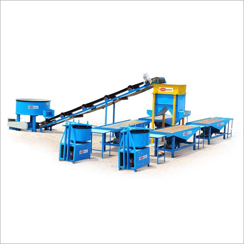 Automatic Vibro Paver Block Making Machine