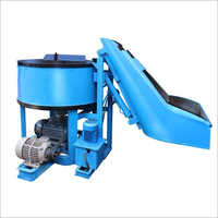 Pan Type Mixer With Hopper