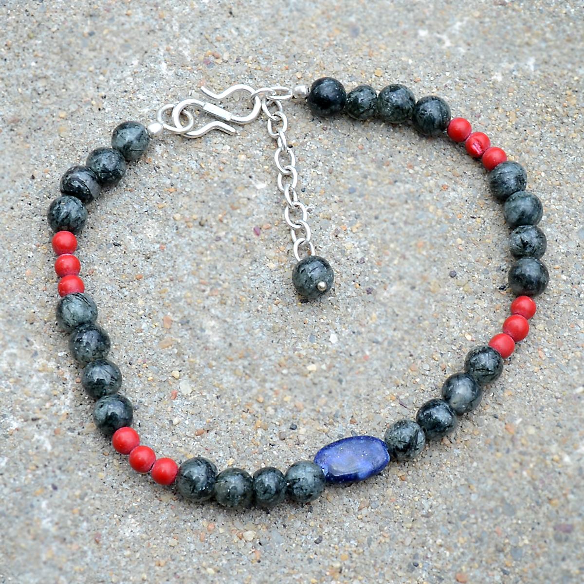 Multi Gemstone Bracelet PG-156334