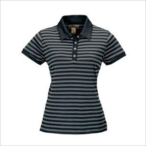 Ladies Collar T-Shirt