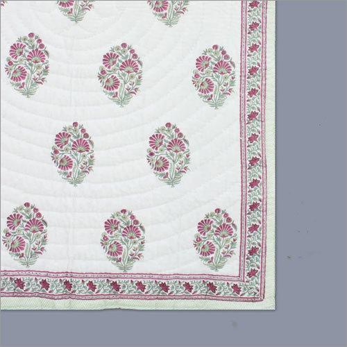 Mughal Butta Print Summer Quilt