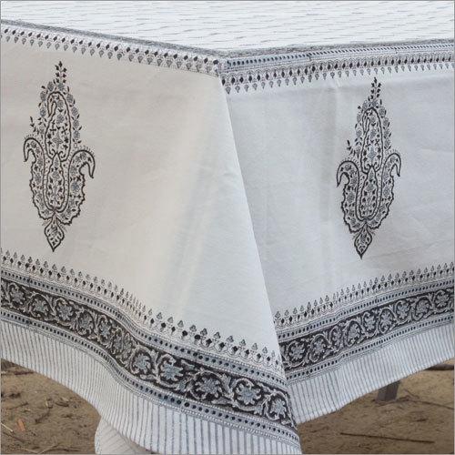 Floral Mughal Butta Print Tablecloth