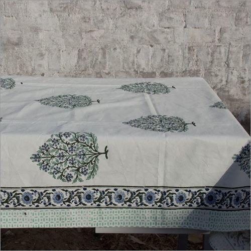 Green Mughal Butta Tablecloth