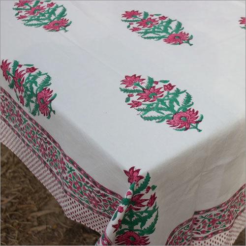 Block Print Cotton Table Cloth