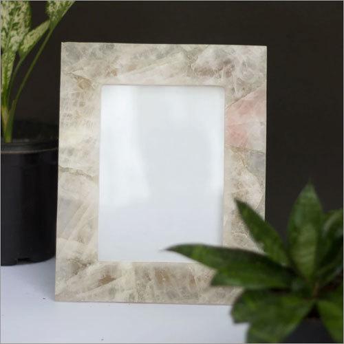 White Quartz Photo Frame