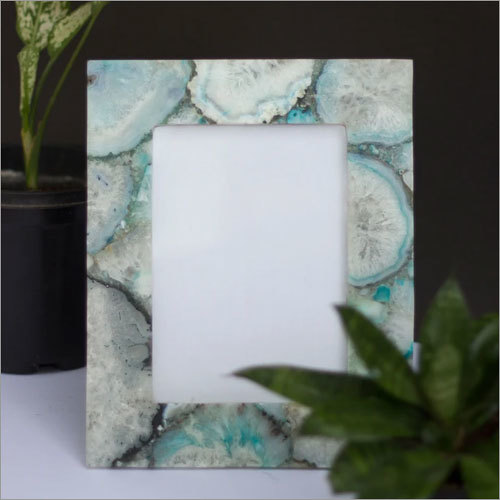 Green Agate Photo Frame