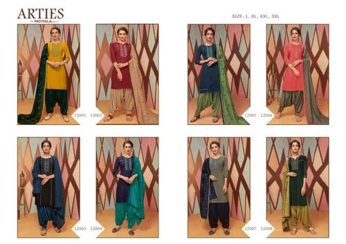 Arties by Patiyala Vol-4 Wholesale Kurtis