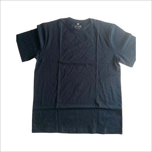 Mens Round Neck Plain T-Shirt