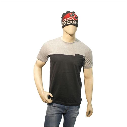 Round Neck Polo T-Shirt