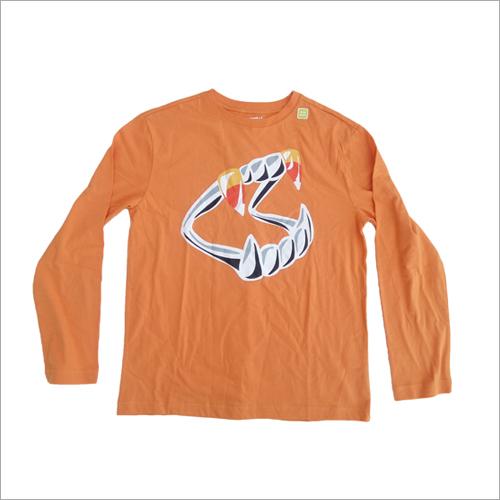 Full Sleeves Printed T-Shirt
