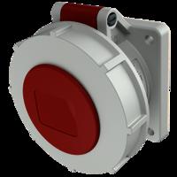 Mennekes 2123A Reefer Socket, 32Amp 4Pin, Clock position - 3h.