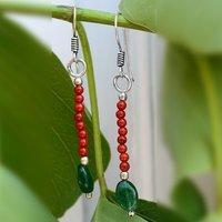 Green Aventurine & Jasper Silver PG-156360