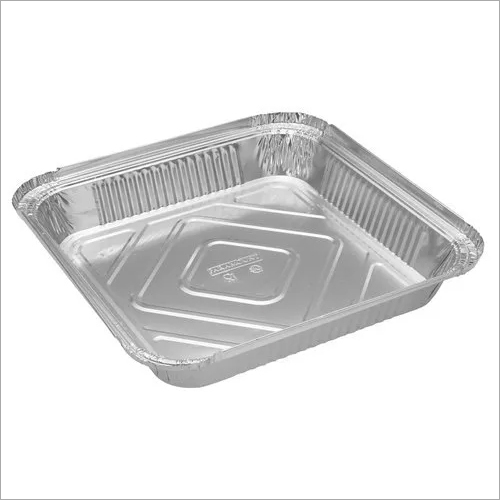 Paramount 9X9 Deep (2100 Ml) Aluminium Foil  Food Container