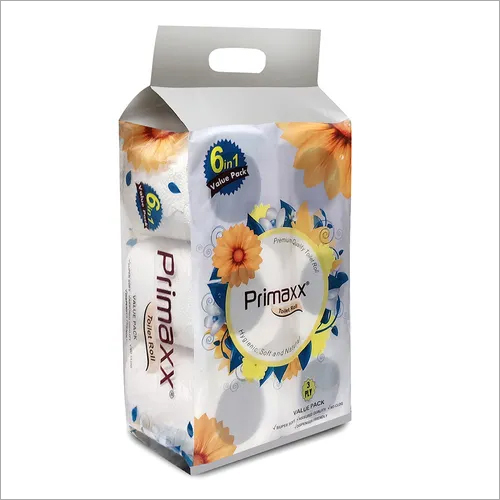 Primaxx Premium Quality Toilet Paper Roll (3 Ply) 6 In 1 Pack