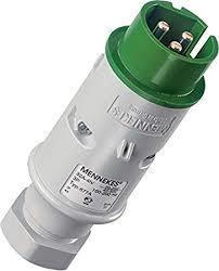 Mennekes 677A Plug, 32 Amp 3Pin, Voltage. 20-25, 40-50 V. Clock position. 4 h
