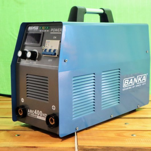 ARC 400 HD 1/2/3 PHASE PORTABLE STUD TYPE ARC WELDING MACHINE