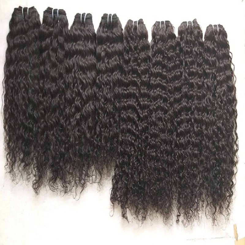 Curly  Weft Hair Extensions