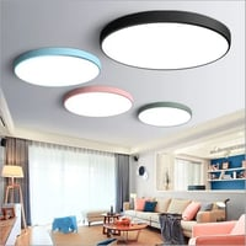 Round Decor-Panel Light