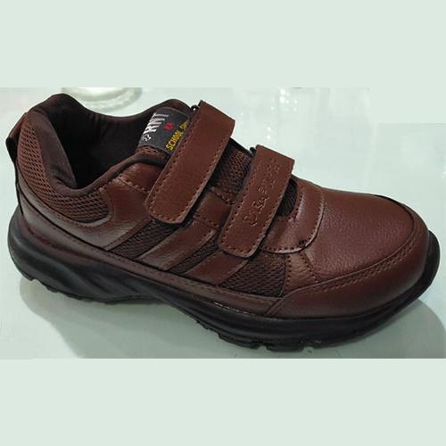 Brown Gola School Shoe