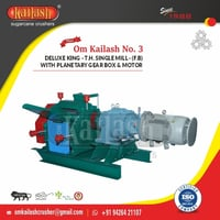 Super Heavy Automatic sugarcane Crusher with Planetary Gearbox
