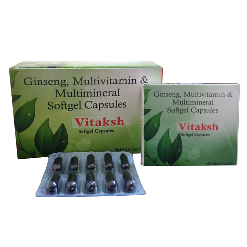 Ginseng Multivitamin And Multimineral Soft Capsules