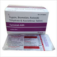Trypsin Bromelain Rutoside Trihydrate And Aceclofenac Tablets