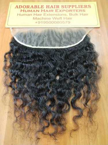 Natural Curly Micro Hand Tied Hair