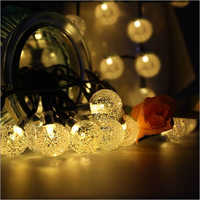 Solar Decorative Crystal Ball String Light