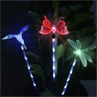 Solar Garden Decoration Stake Lights ( Set of 3)